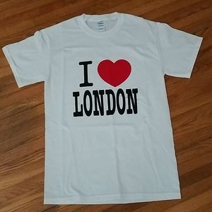 Gildan I Love London Shortsleeve Tee